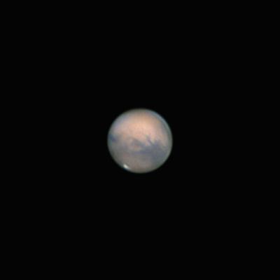 Mars 20.10.2020 - астрофотография