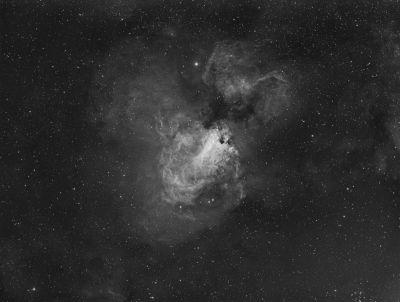 """M17 Туманность """"Омега""""  - астрофотография"""