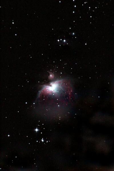 Большая туманность Ориона. 18.11.2020 - астрофотография