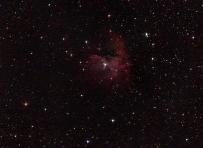 NGC 281 (Pac-Man) - астрофотография