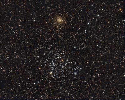 M35 + NGC2158 - астрофотография