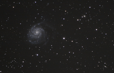 M101 (Вертушка) - астрофотография