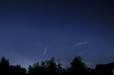 Комета C/2020 F3 (NEOWISE) (1) - астрофотография