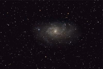 M33 (NGC 598) Triangulum Galaxy - астрофотография