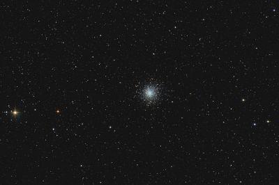 Globular cluster M10 - астрофотография