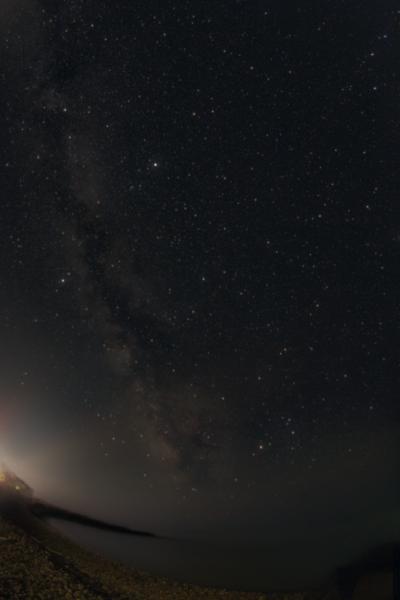 Млечный путь над Чёрным морем - астрофотография