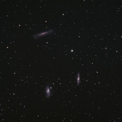 M65, M66, NGC3628 (Leo triplet)  - астрофотография