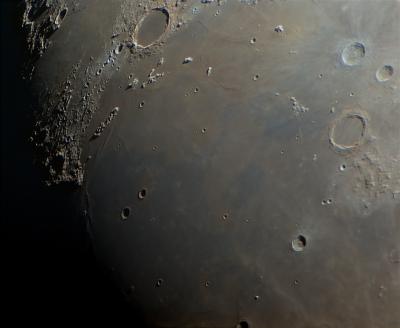 Луна 200503, море Дождей - астрофотография