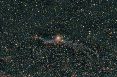 NGC 6960 - астрофотография