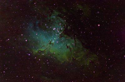 М16 Орел - астрофотография