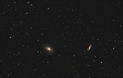 M81, M82 Галактики Бодэ. 21.08.2020 - астрофотография