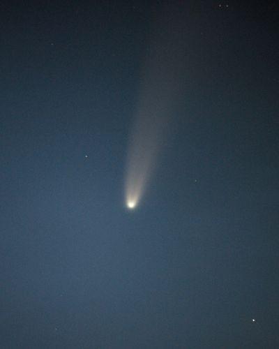 Комета C/2020 F3 (NEOWISE) - астрофотография