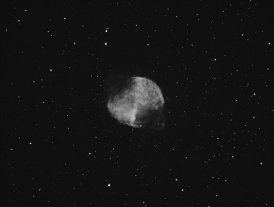 M27 Dumbbell Nebula. Ha 656nm (Draft) - астрофотография