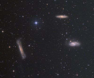 Leo Triplet ver. 2.0 - астрофотография