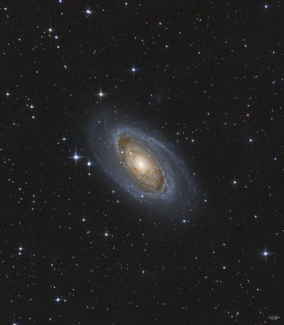 M81 Bode galaxy - астрофотография