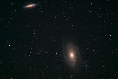 Bode galaxies - астрофотография