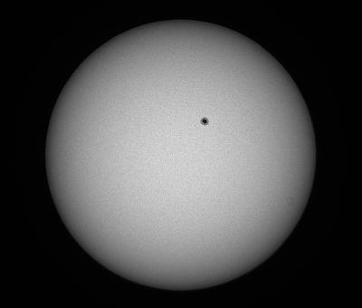 Sunspot AR 2738 - астрофотография