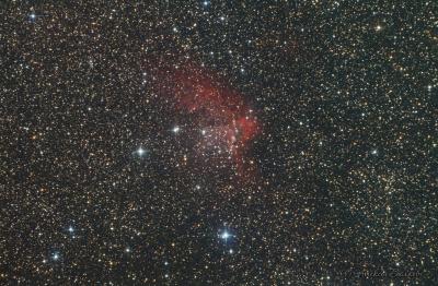 NGC7380 - астрофотография