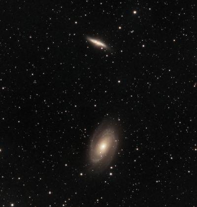 M81 and M82 - астрофотография