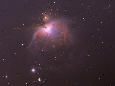 M42 Туманность Ориона (пример обработки) - астрофотография