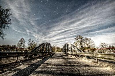 Pagramančio tiltas - астрофотография