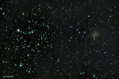 M35 plus NGC2158 (08-12-2020) - астрофотография