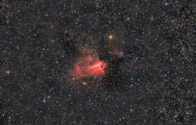 M17 Омега - астрофотография