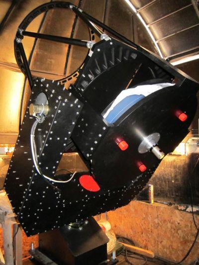 РК 610мм монтаж - астрофотография