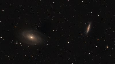 m81 + m82 - астрофотография