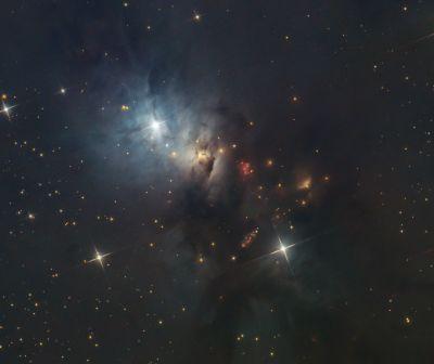 NGC 1333 - астрофотография