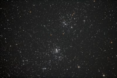 NGC869 NGC884 Chi h Persei - астрофотография