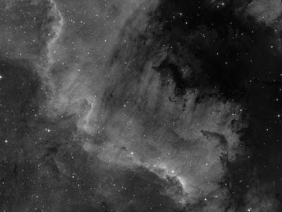 NGC 7000 (part2) - астрофотография