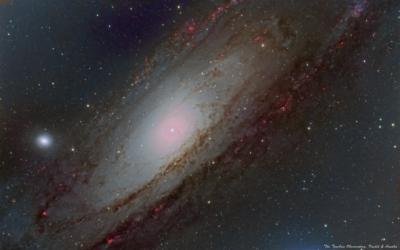 Туманность Андромеды, М31, центральная часть - астрофотография