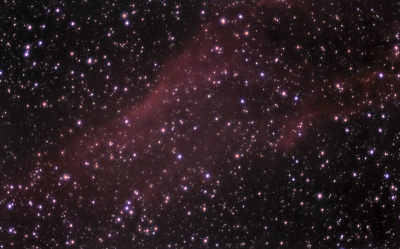 NGC 1499 - астрофотография
