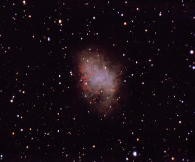M1 - Crab Nebula - астрофотография