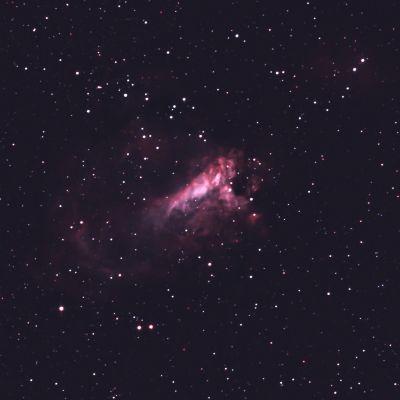 M17 - Swan Nebula  - астрофотография
