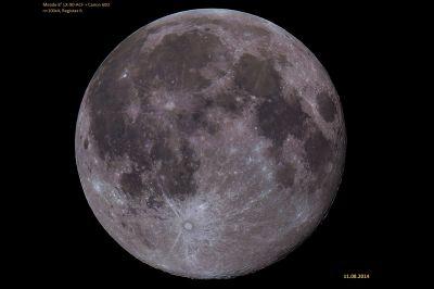 mosaico lunar - астрофотография