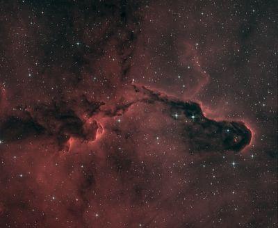 SMAUG nebula - астрофотография