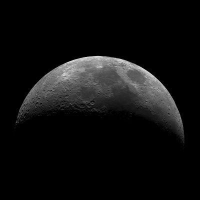 The Moon - астрофотография