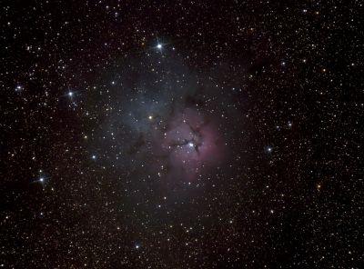 M20 Trifid - астрофотография