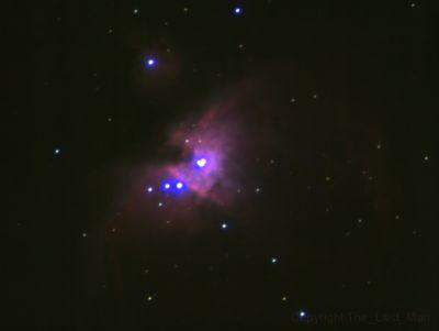 Orion Nebula with Sky-Watcher BK705EQ5 - астрофотография