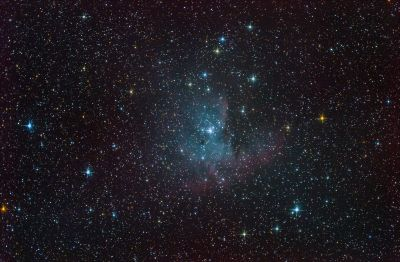 NGC281. Pacman Nebula. - астрофотография