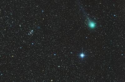 Комета - астрофотография