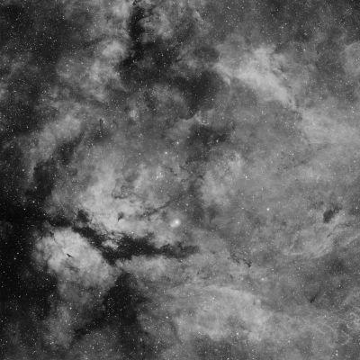 Комплекс туманностей Гамма Лебедя - астрофотография