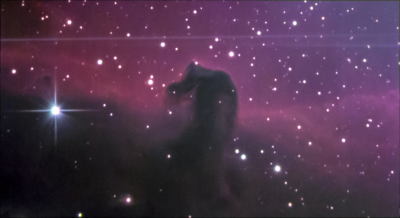Туманность Конская Голова. Horsehead Nebula (Barnard 33). 25.01.2020. - астрофотография