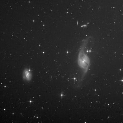 NGC 3718 - астрофотография