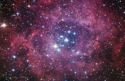 NGC 2237 Rosette - астрофотография