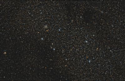 Sagittarius Star Cloud - M24, NGC6603, etc. - астрофотография