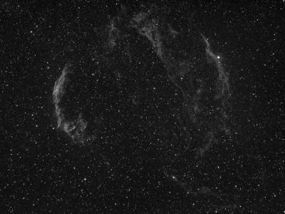 HYDROGEN IN VEIL NEBULA - астрофотография