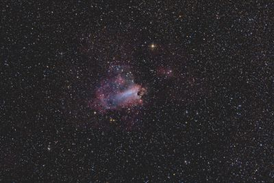 Omega Nebula - M17 - астрофотография